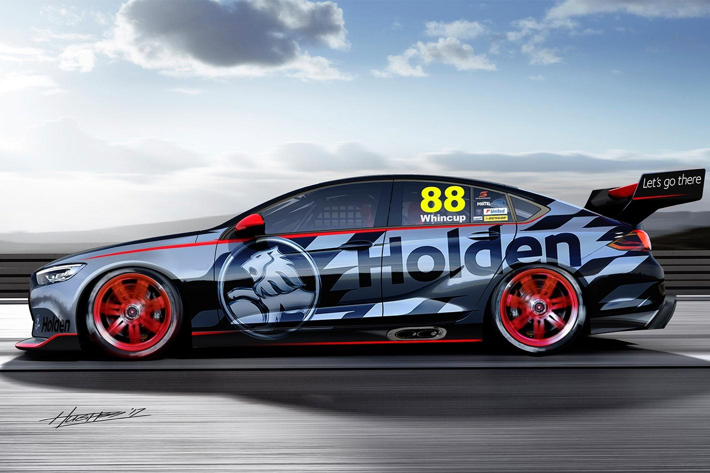 2018 Holden Commodore to keep V8 for Supercars