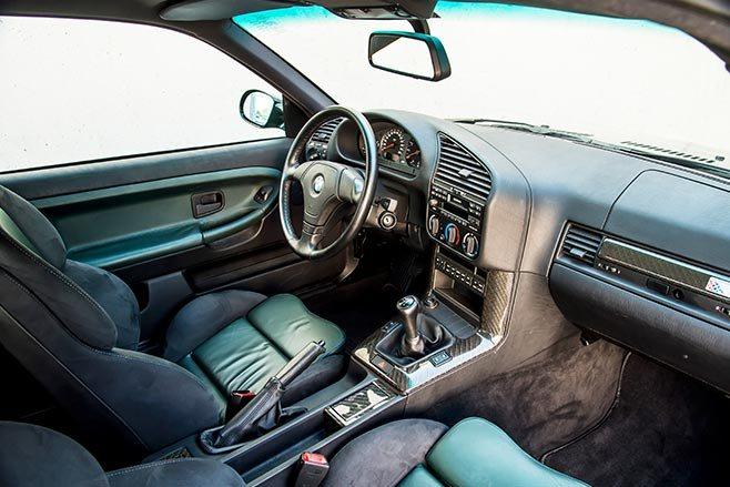 BMW E36 M3 GT Interior