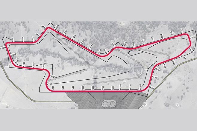 New mt panorama track