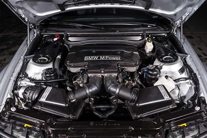 BMW E46 M3 GTR engine