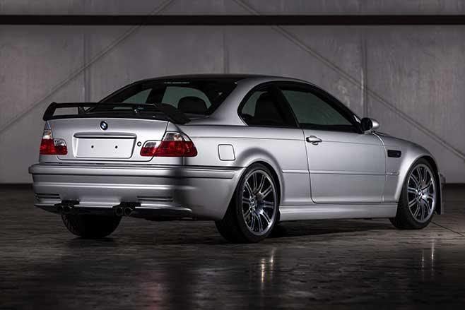 BMW E46 M3 GTR rear