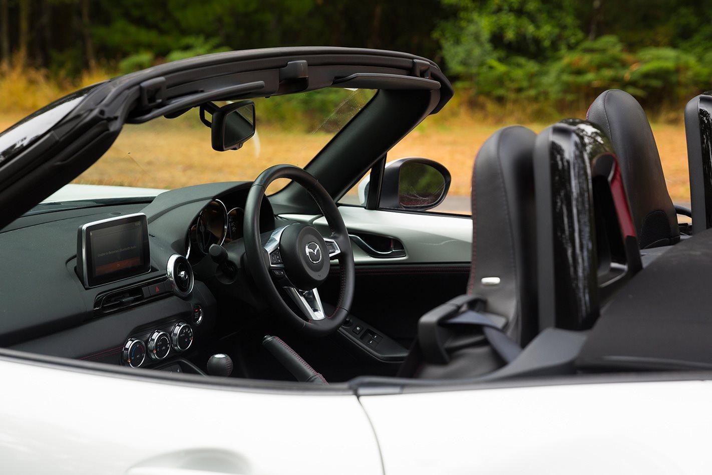 2017 Mazda MX-5 convertible