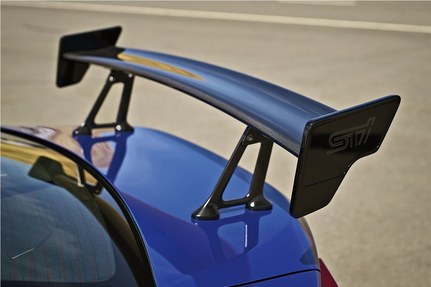 2018 Subaru WRX STI Type RA Rear