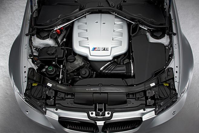 BMW E90 M3 CRT engine bay