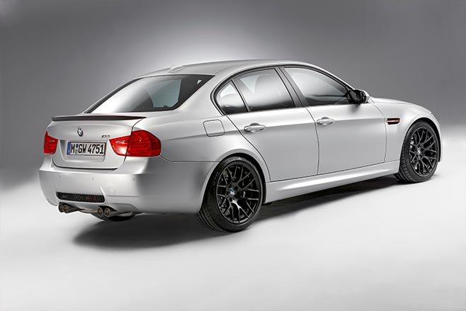 BMW E90 M3 CRT rear side