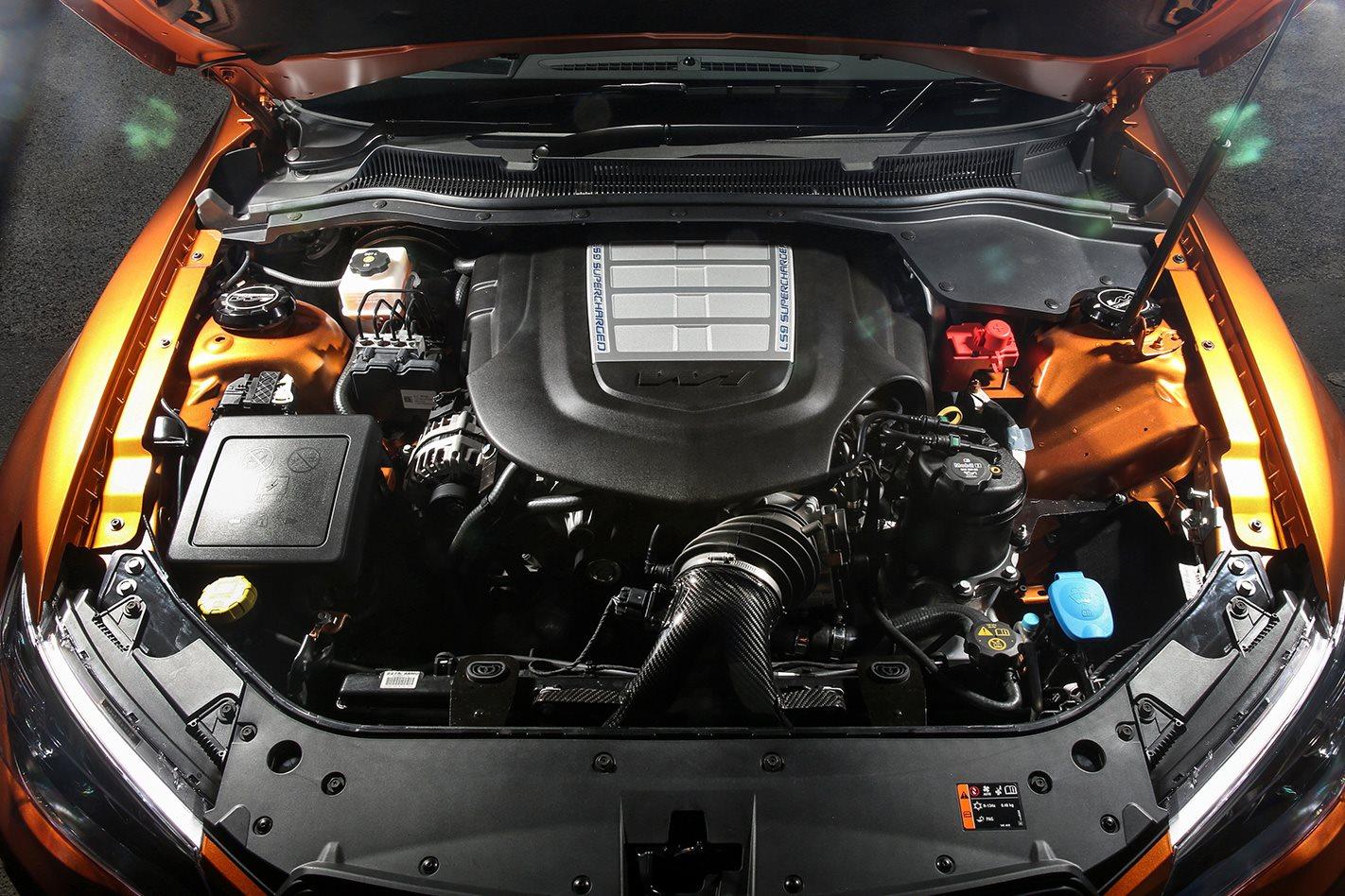 HSV W1 engine