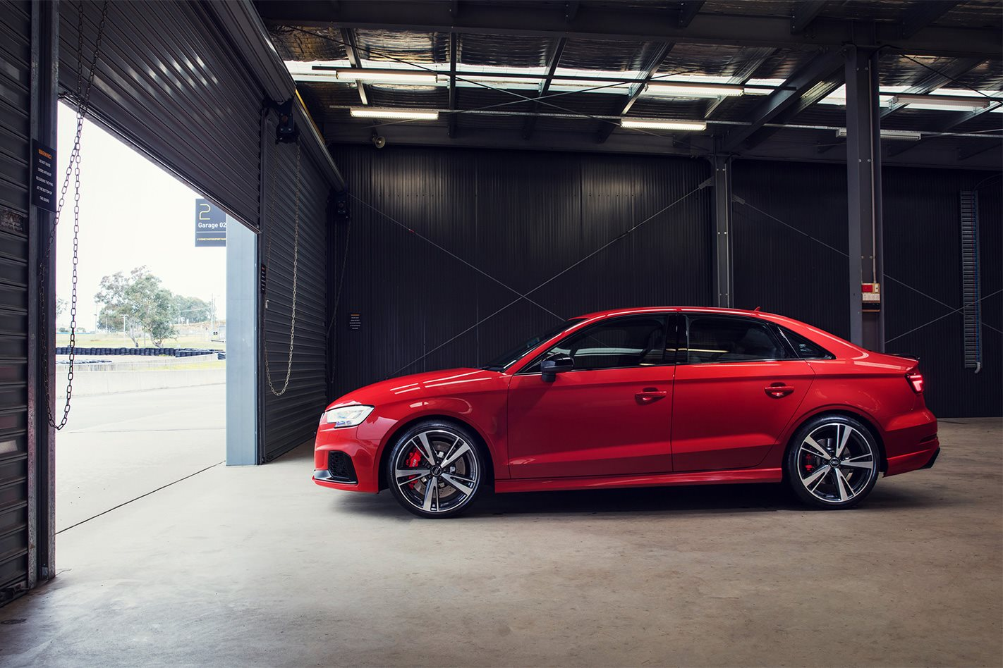 2017 Audi RS3 Sedan profile