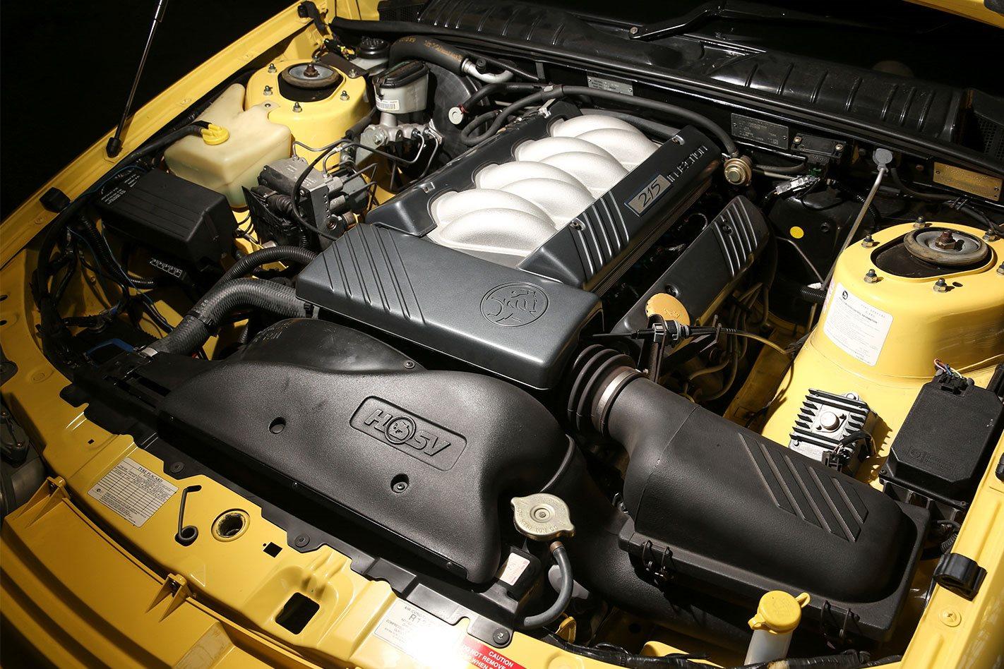 GTS R Engine