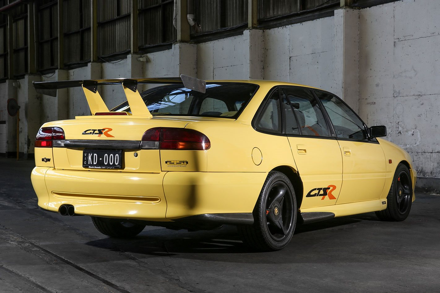 GTS R Rear