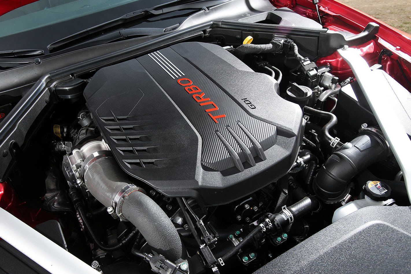 2017 Kia Stinger GT engine