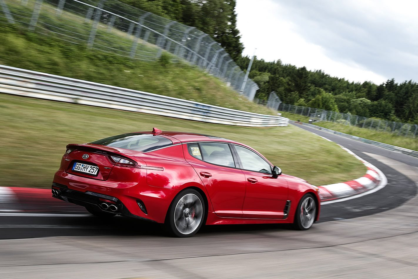 2017 Kia Stinger GT rear