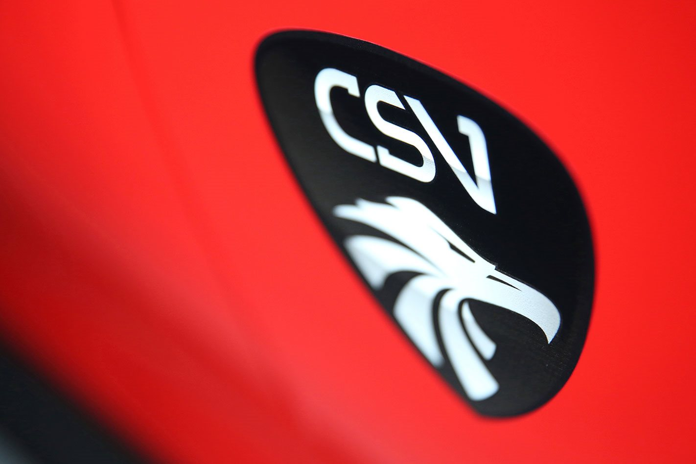 CSV MUSTANG Corsa Special Vehicles Stamp