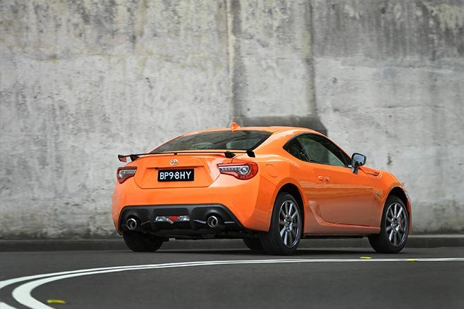 Limited edition Toyota 86 rear