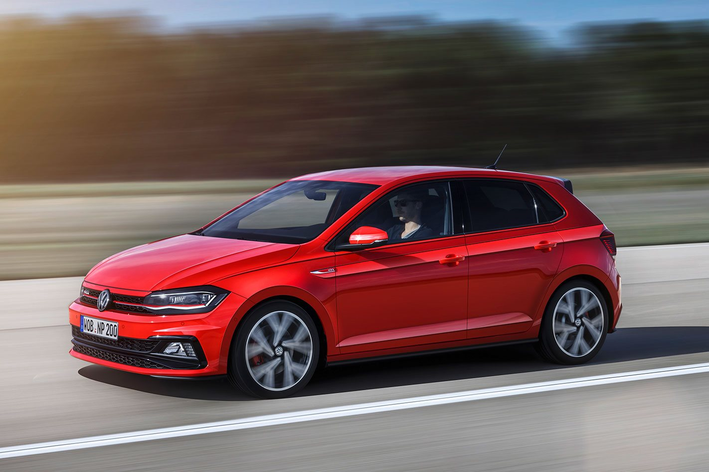 new 2018 volkswagen polo gti revealed. Black Bedroom Furniture Sets. Home Design Ideas