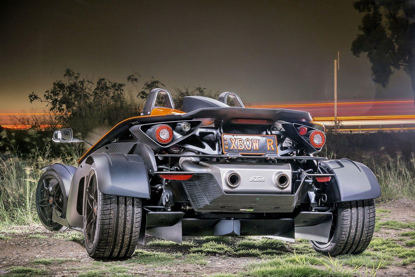 KTM X-BOW rear