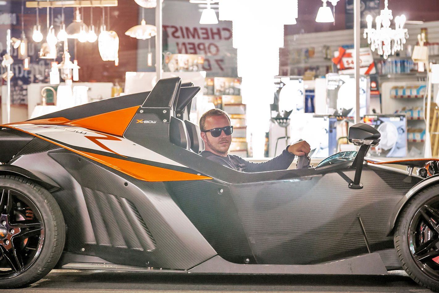 KTM X-Bow Andrew driving