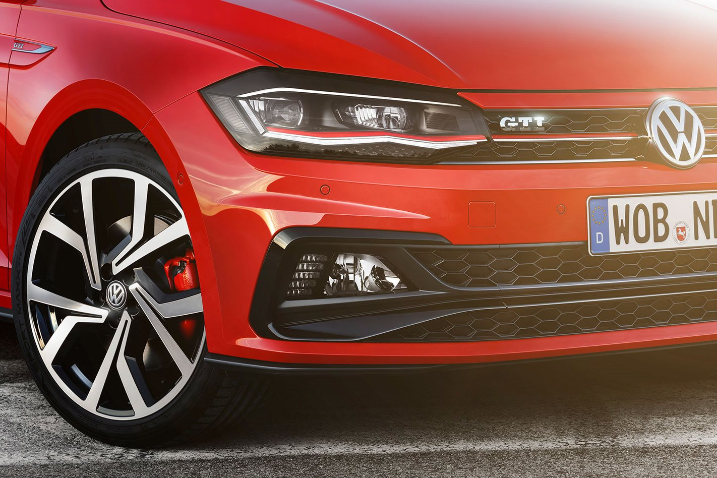 2018 Volkswagen Polo GTI Wheels