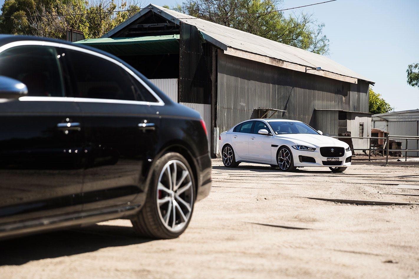Audi S4 vs Jaguar XE S