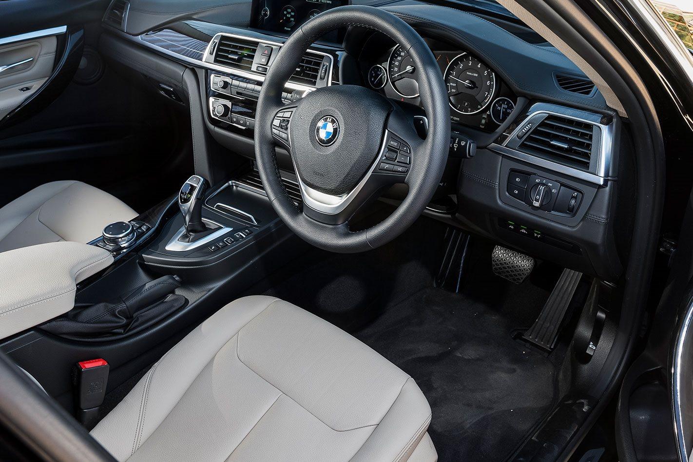BMW 340i interior