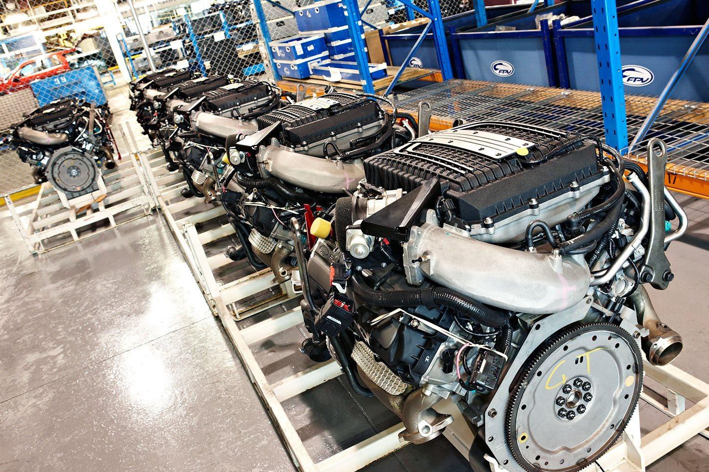 Ford Ranger V8 Engine