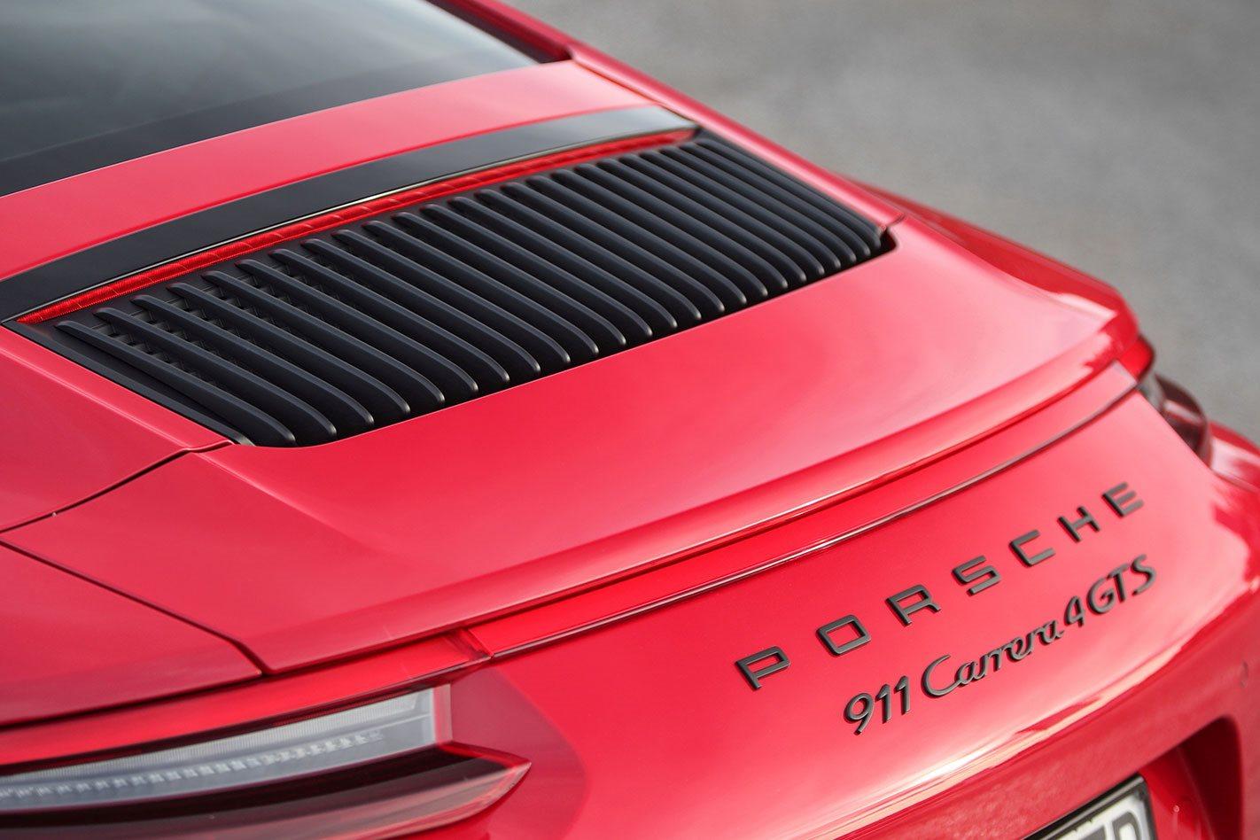 Porsche 991.2 911 GTS branding