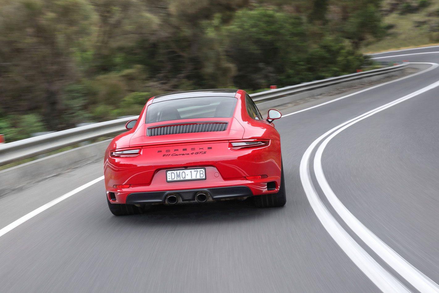 2018 Porsche 991.2 911 GTS rear drive
