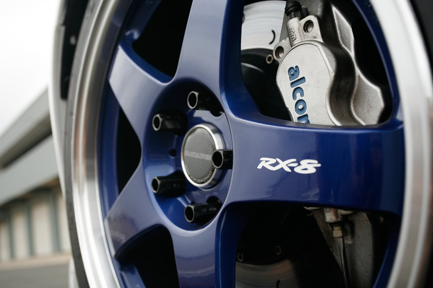 2009 Mazda RX-8 SP Wheel