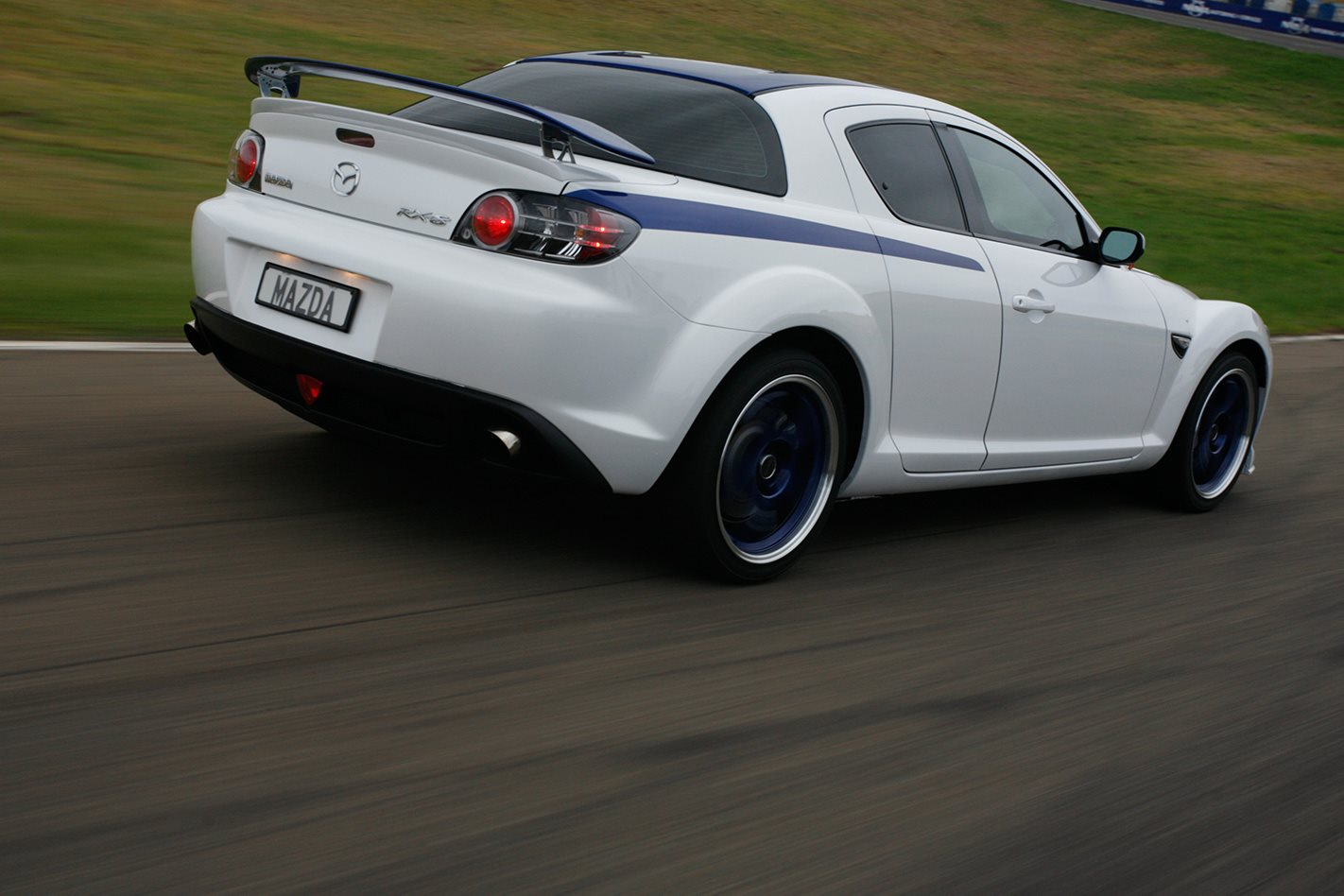 2009 Mazda RX-8 SP rear