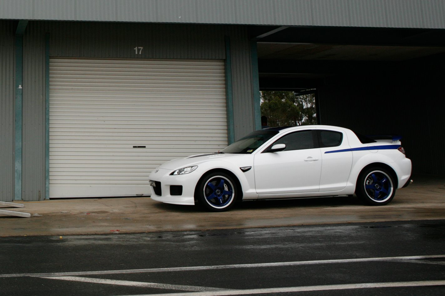 Mazda RX-8 SP side profile