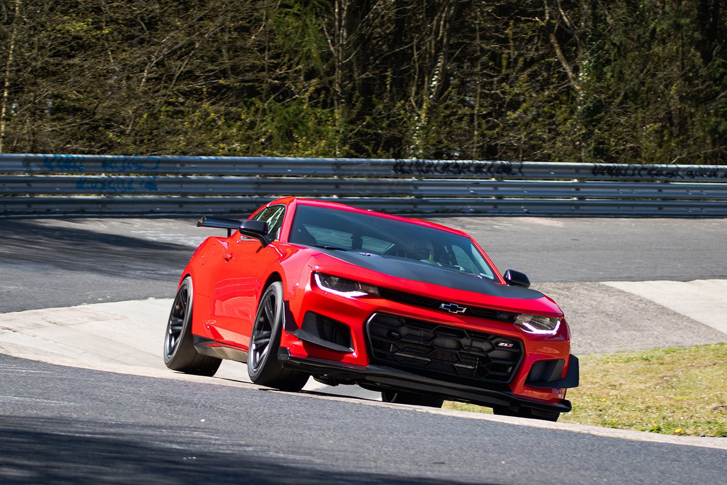 2018 Chevrolet Camaro ZL1 1LE racing