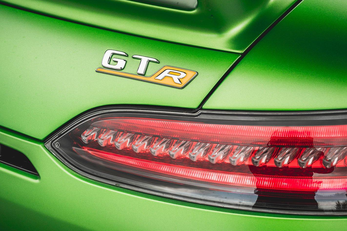 Mercedes AMG GT R branding