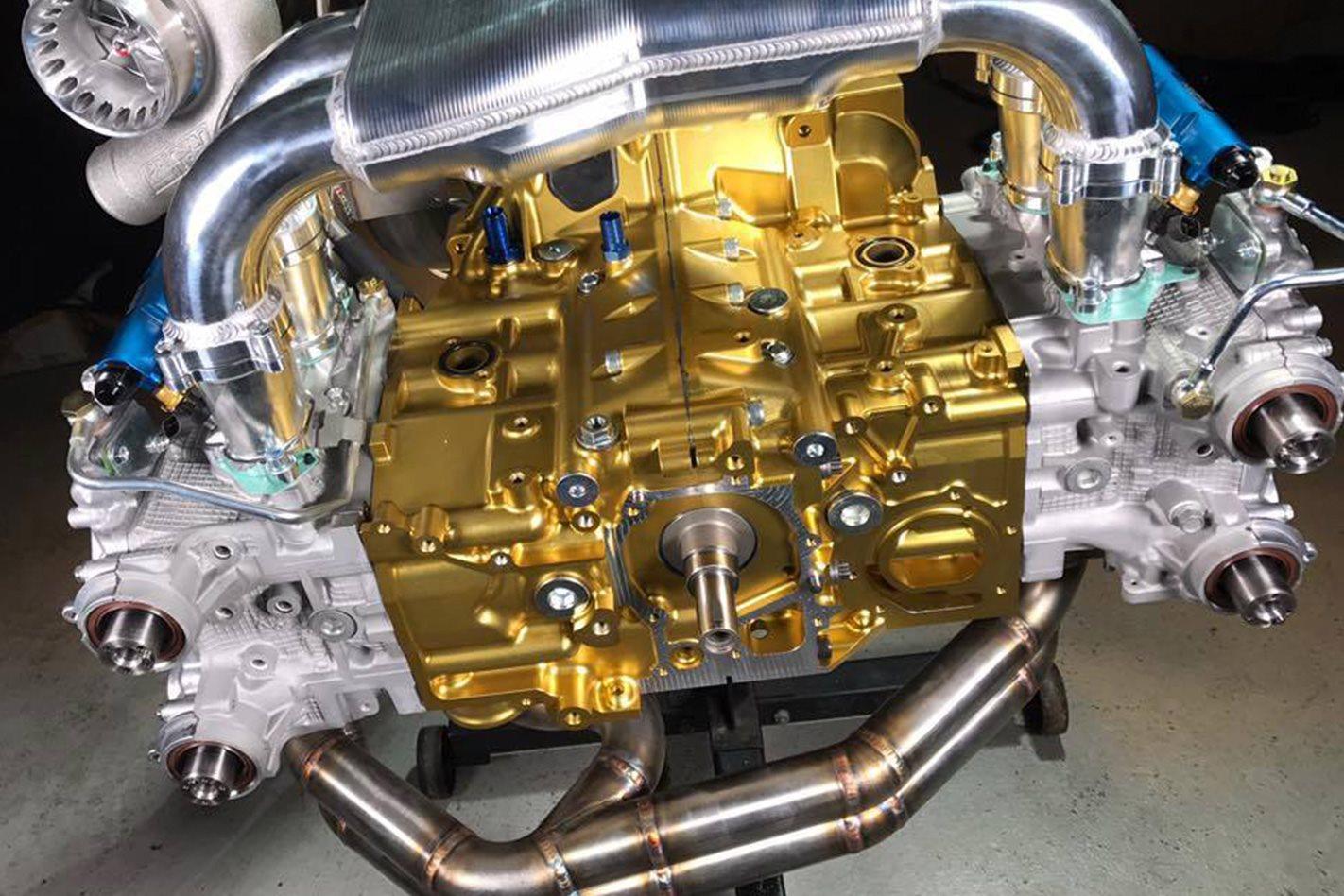 Willall Racings Subaru WRX STI 25BB engine