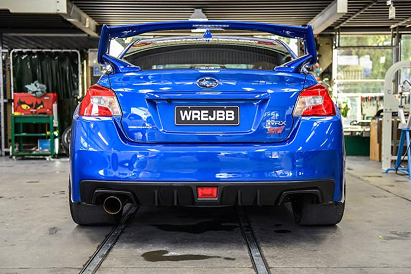 Willall Racings Subaru WRX STI 25BB rear