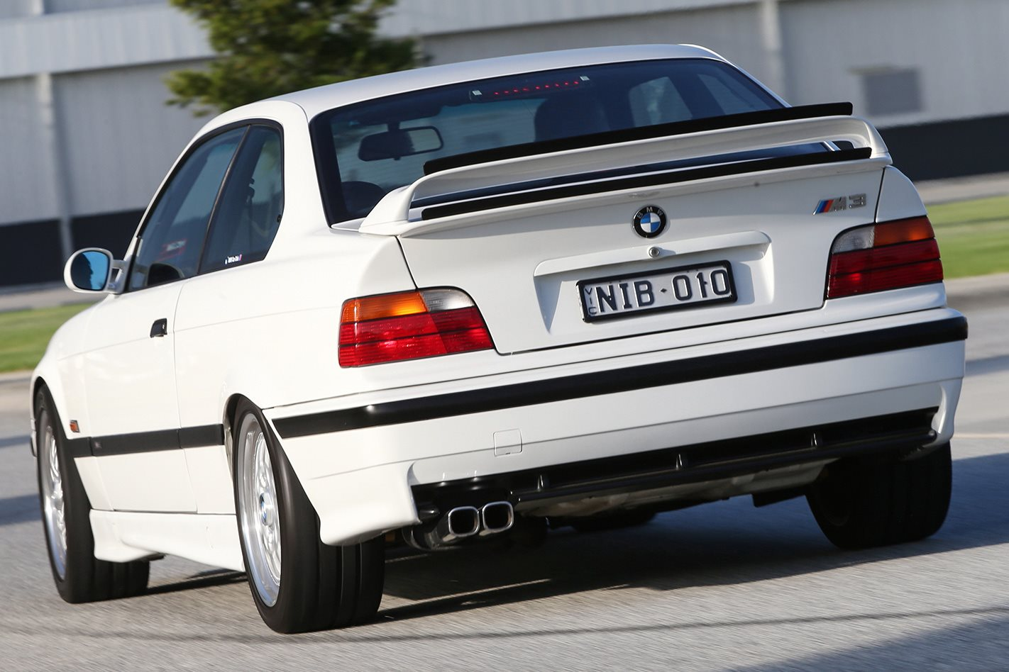 30 years of BMW M3 E36 M3R rear