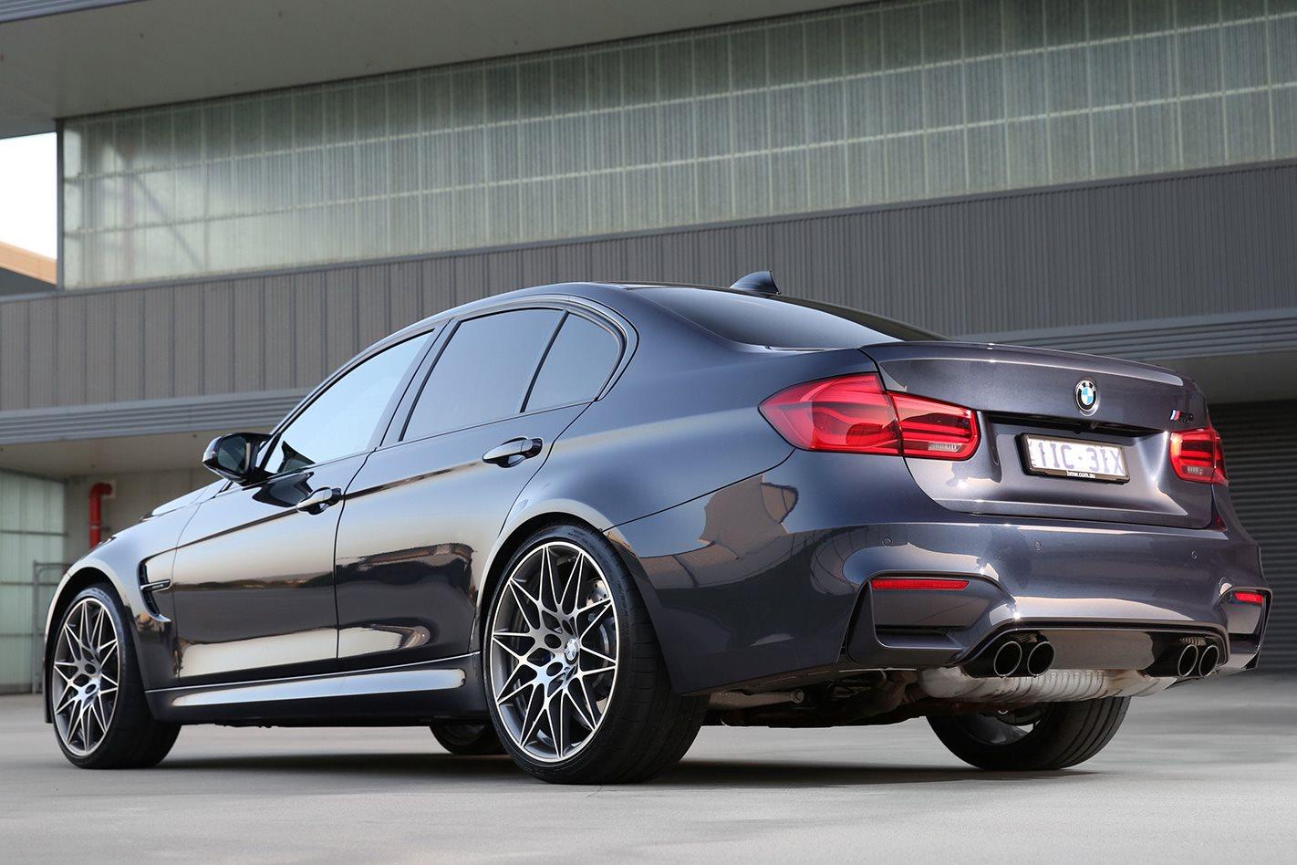 BMW M3 F80 30 Jahre rear