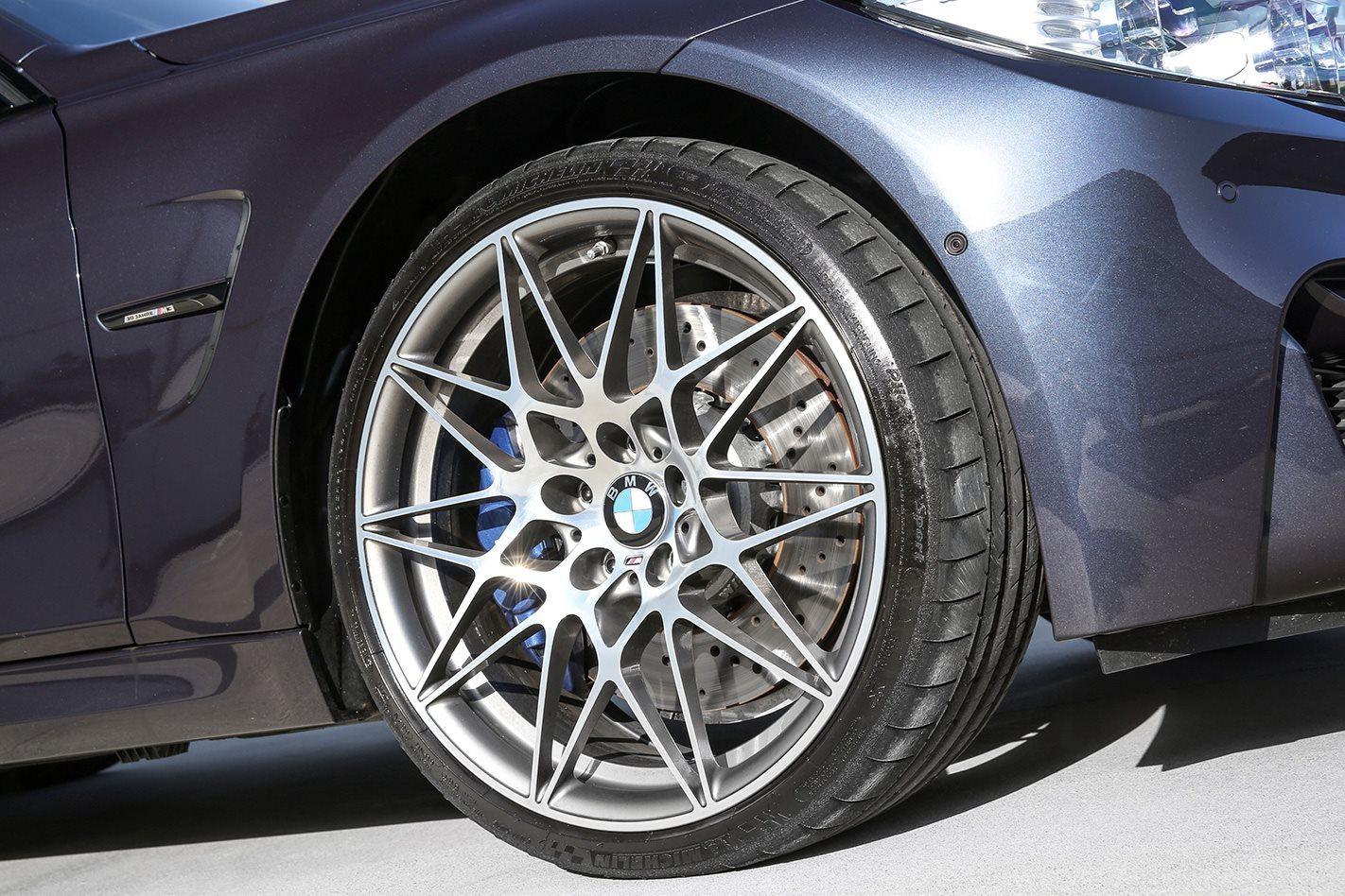 BMW M3 F80 30 Jahre wheel