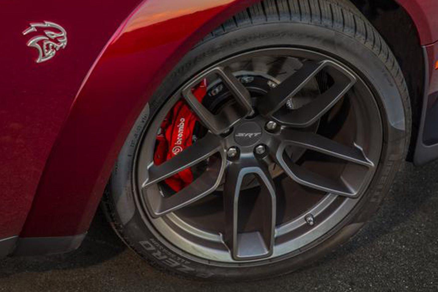 2018 Dodge Challenger SRT Hellcat Widebody wheel