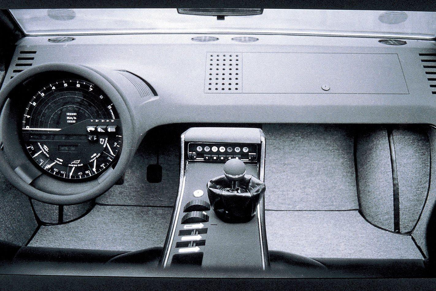Maserati Boomerang interior