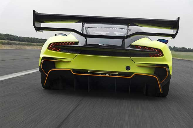 The new dual plane rear wing does a similar job for the back of the car with a 20mm 'Gurney' flap to help maximise downforce