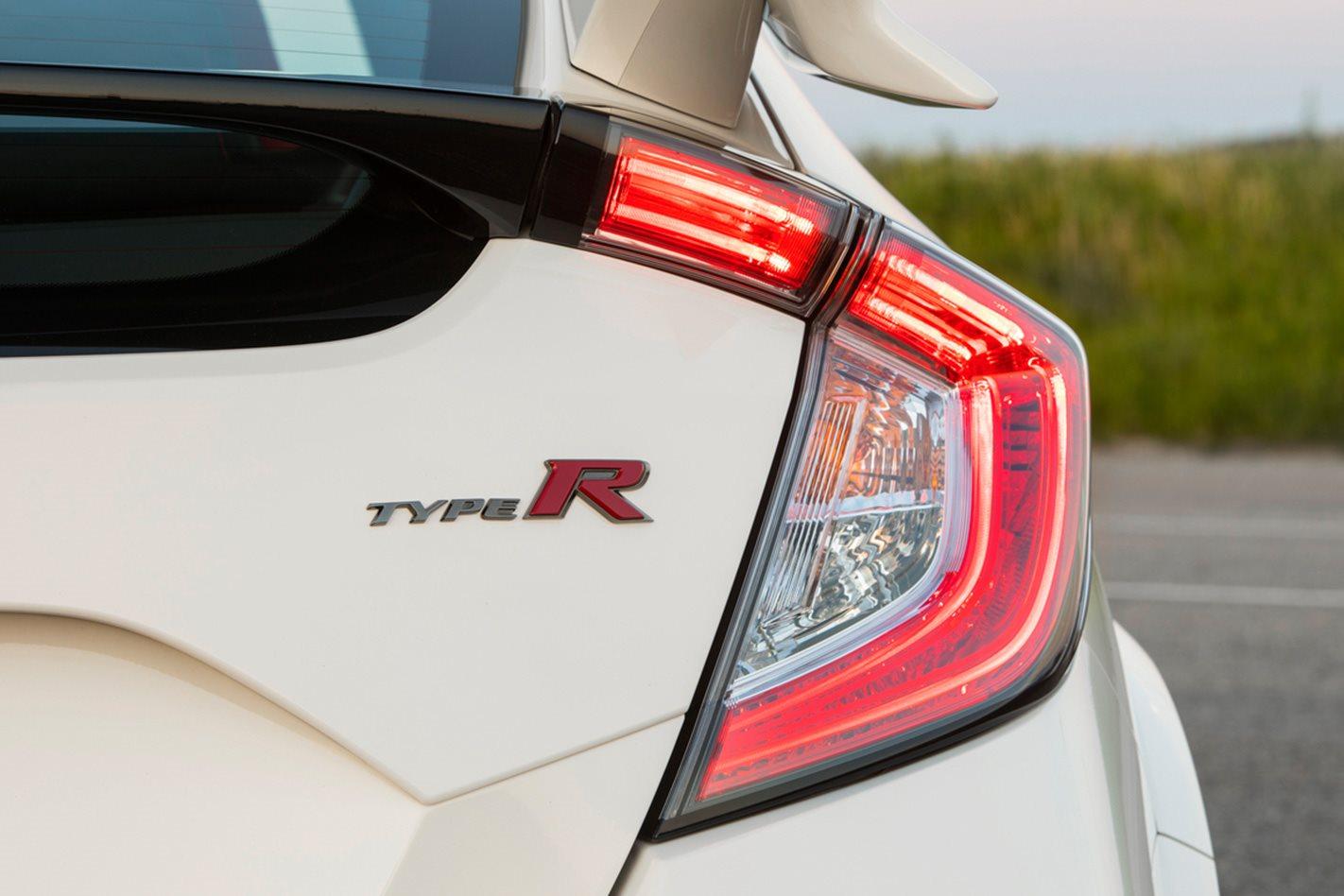 Honda Civic Type R badge