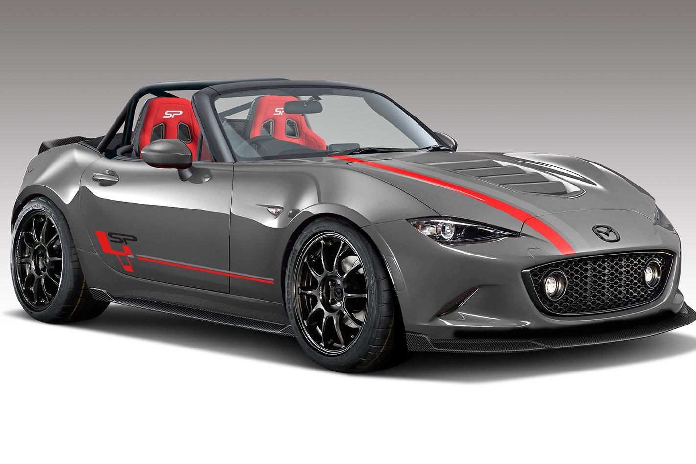 Sweet Dream: Mazda MX-5 SP Grey