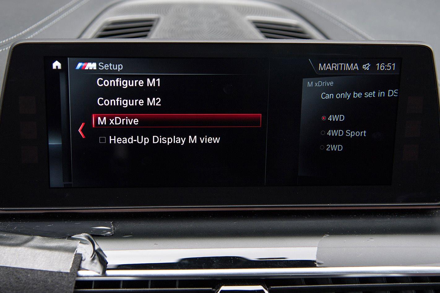 BMW F90 M5 prototype M xdrive