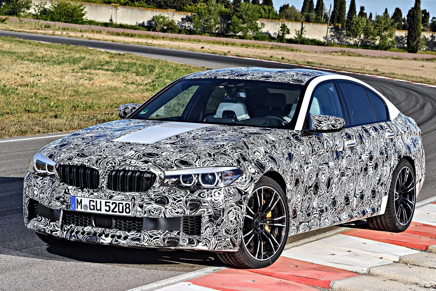 BMW F90 M5 prototype front