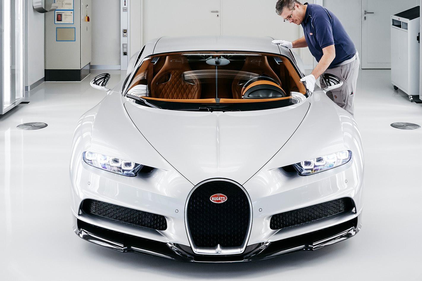 Bugatti factory custom