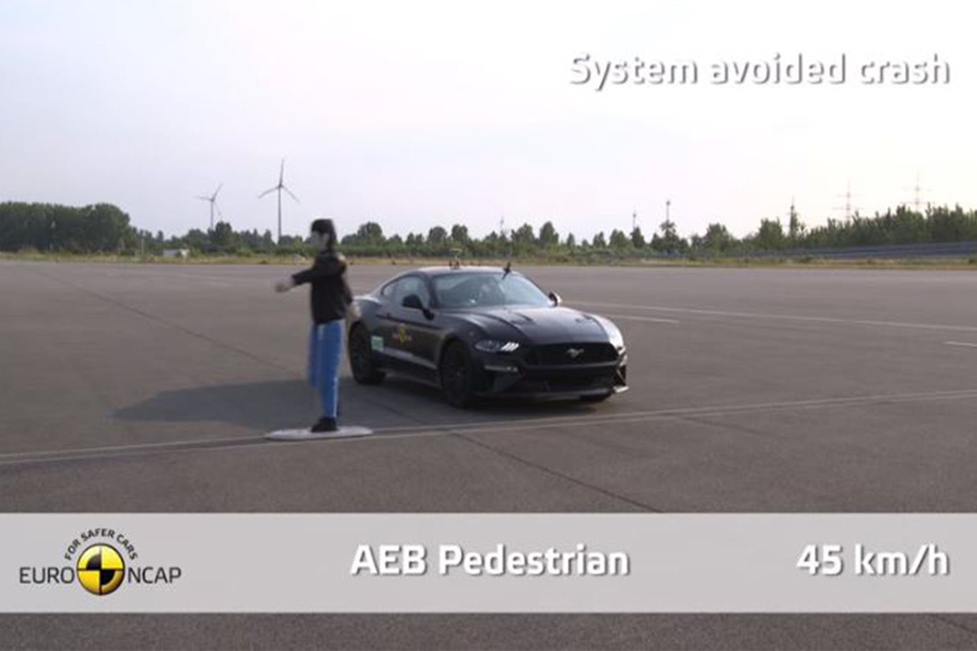 AEB Pedestrian EURO NCAP testing
