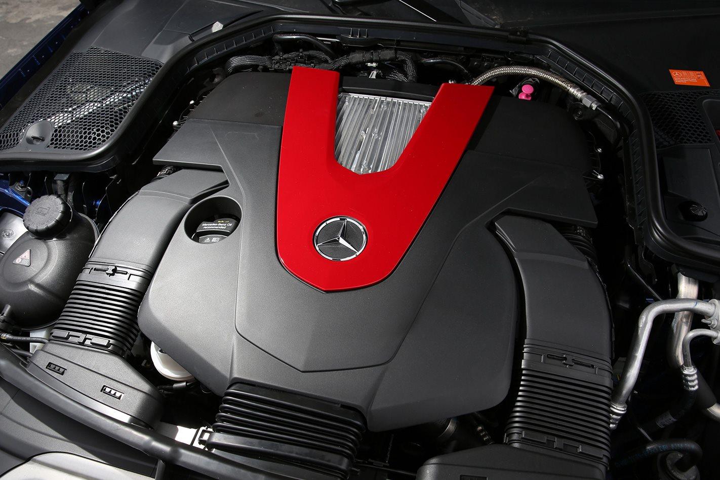 Mercedes AMG C43 engine