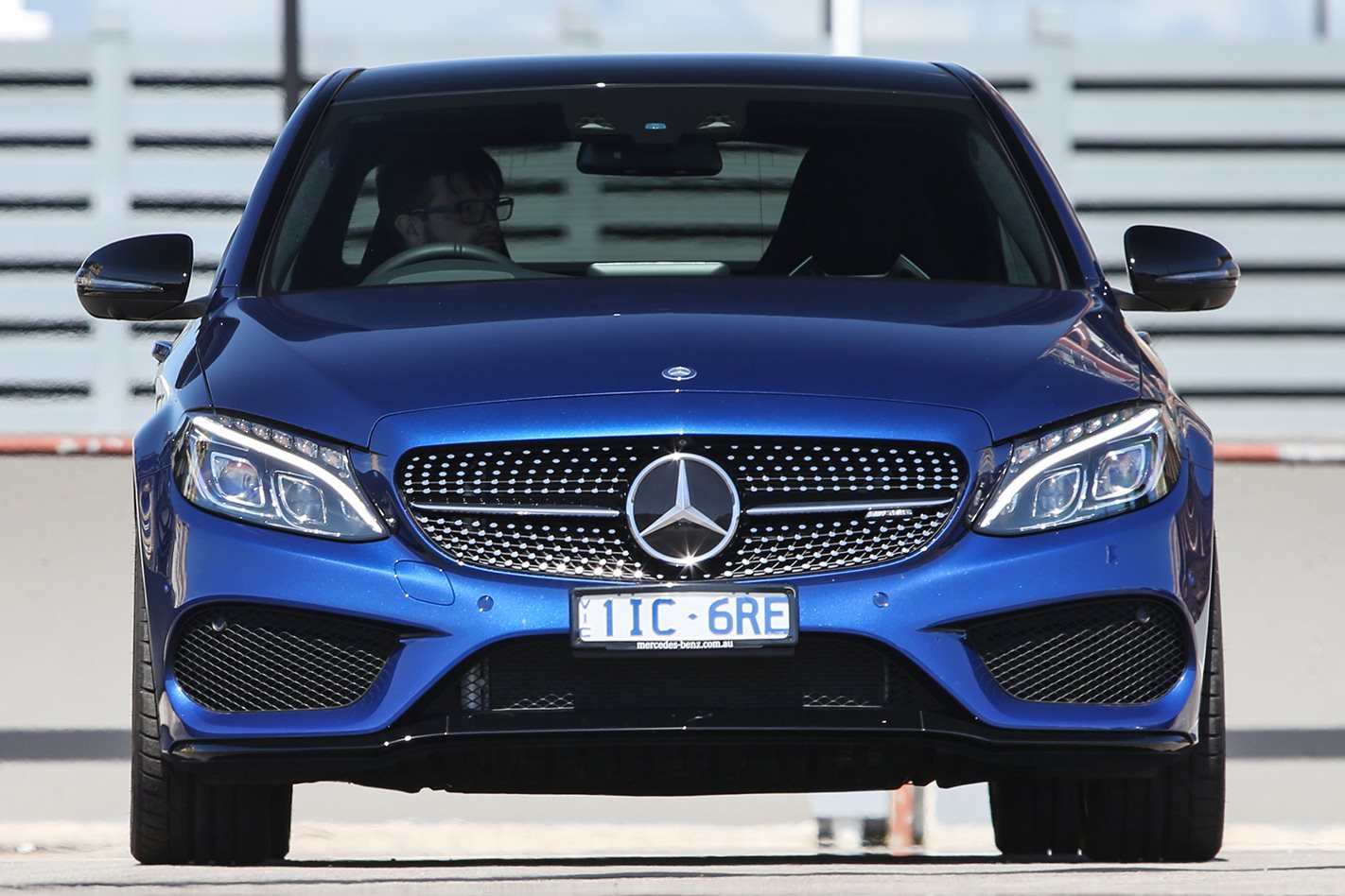 Mercedes AMG C43 front