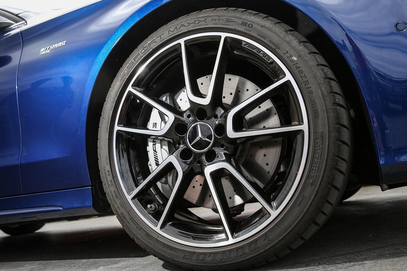 Mercedes AMG C43 wheel