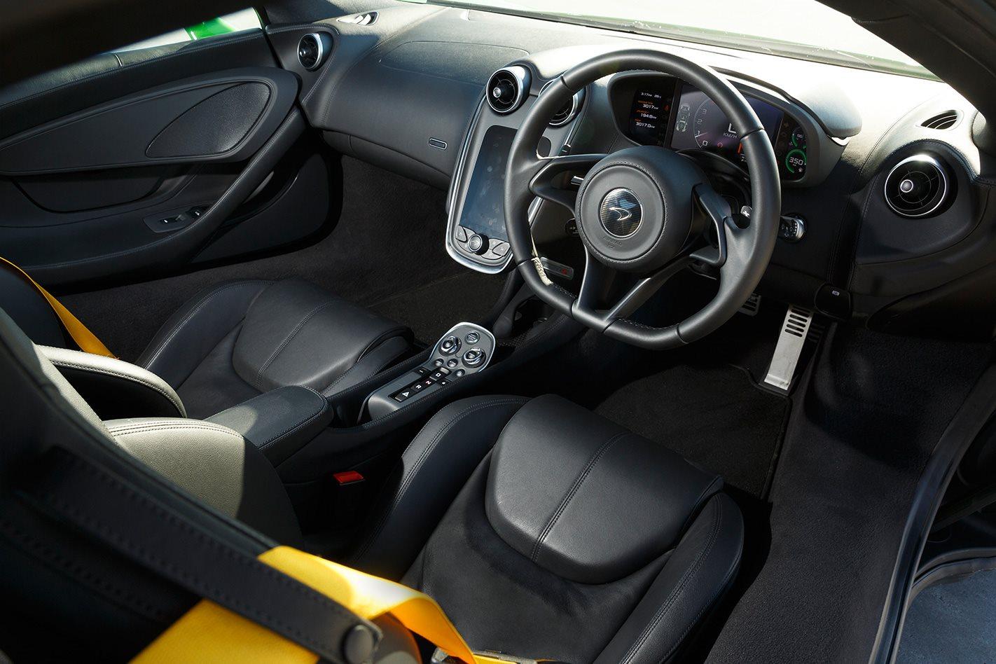 2017 McLaren 570S interior