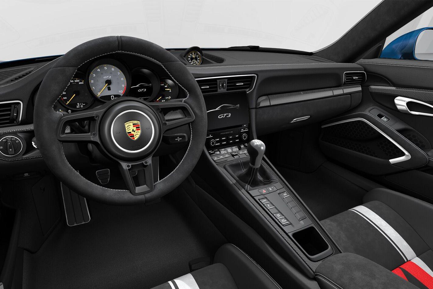 Build your own Porsche 911 GT2 RS interior